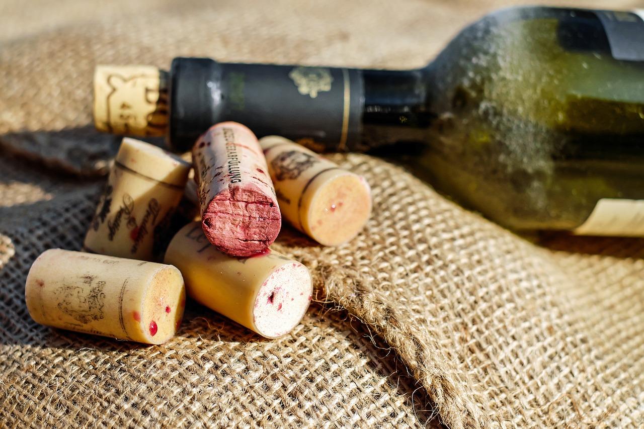 wino korkowe