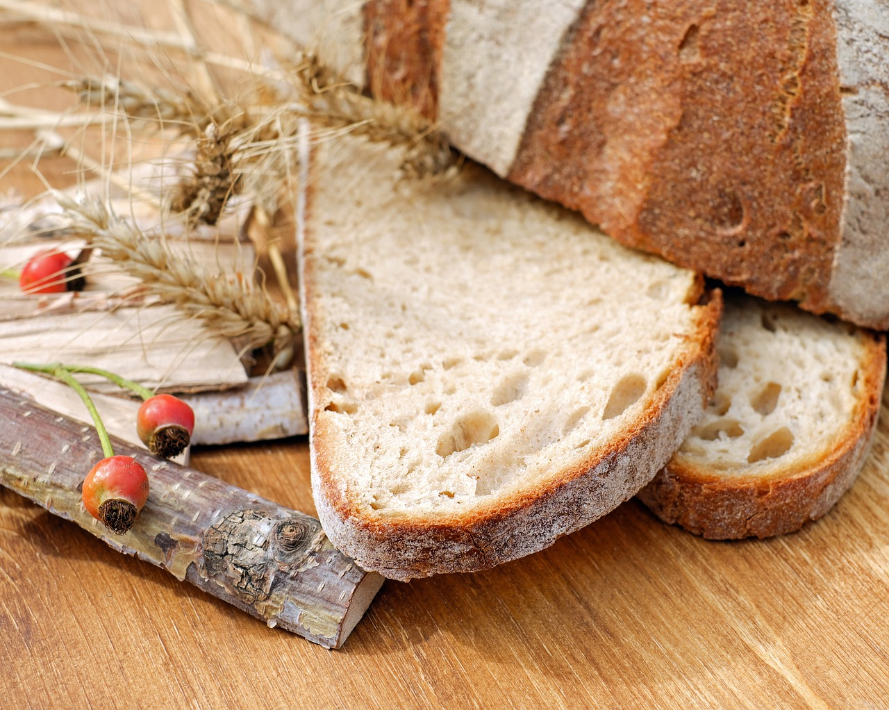 chleb na polskie wesele