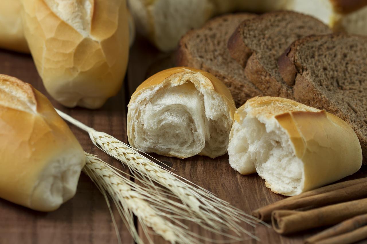 różne rodzaje chleba